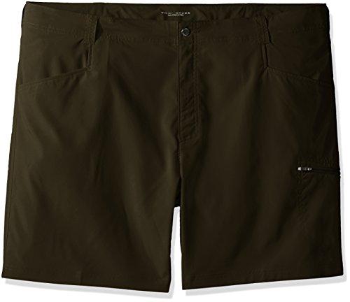Columbia Men's Big-Tall Silver Ridge Stretch Shorts, Peat Moss, 46 x 8