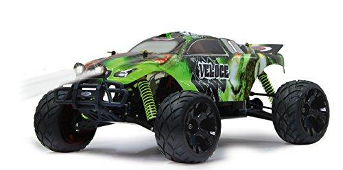 Veloce Monstertruck 1:10 4WD NiMh 2,4G LED - Allrad, Elektroantrieb, Akku, 35Kmh, Aluchassis, spritzwasserfest, Öldruckstoßdämpfer, Kugellager, Fahrwerk einstellbar, fahrfertig - 5