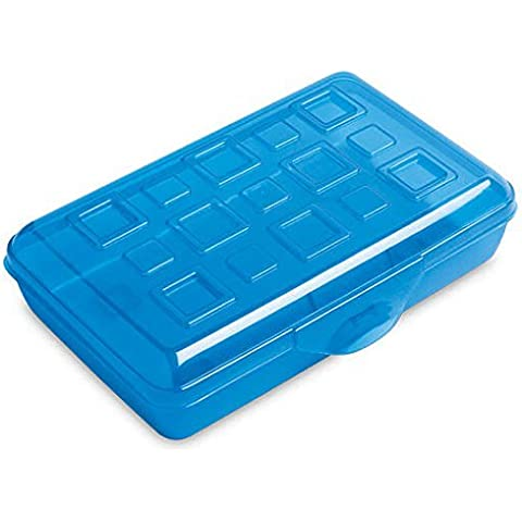 Sterilite Pencil Box with Splash Tint Lid (17224812) by STERILITE