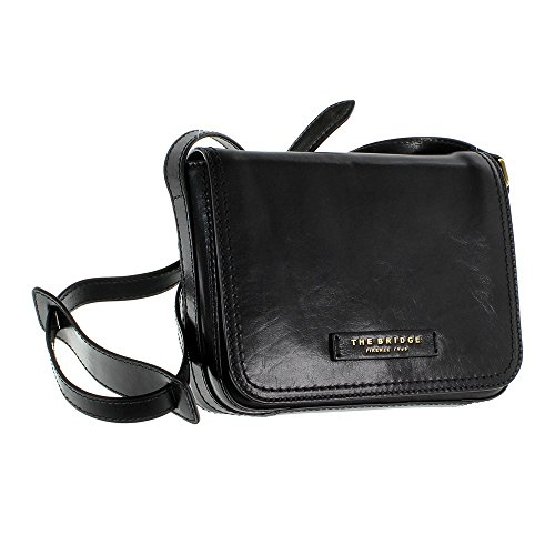 The Bridge Story Donna sac bandoulière cuir 25 cm nero-goldfarben