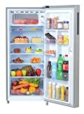 Haier 195 L 5 Star Direct Cool Single Door Refrigerator (HRD-1955CSS-E, Shiny Steel)