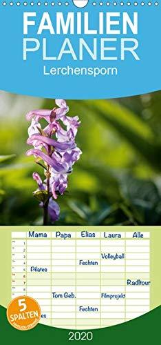 Lerchensporn - Familienplaner hoch (Wandkalender 2020 , 21 cm x 45 cm, hoch): Der Frühlingsbote (Monatskalender, 14 Seiten ) (CALVENDO Natur)