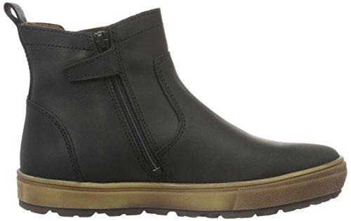BellyButton Stiefelette, Unisex-Kinder Chelsea Boots, Schwarz (Nero)