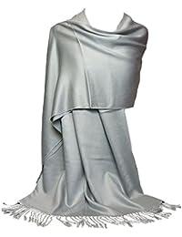 GFM Fashion Damen Pashmina Mehrfarbig mehrfarbig Large Gr. Large, (KSHMNA-160-Ch)