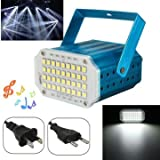 10W White LED Stage Light Strobe Flash Projector For Club Party Disco Bar KTV