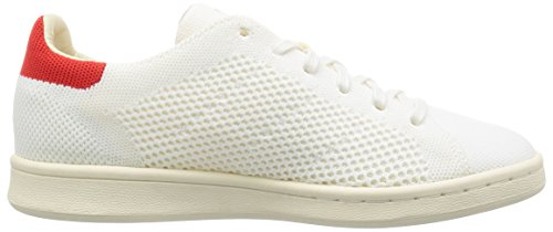adidas Stan Smith Og Primeknit, Sneakers Basses Homme Blanc (Footwear White/footwear White/chalk White)