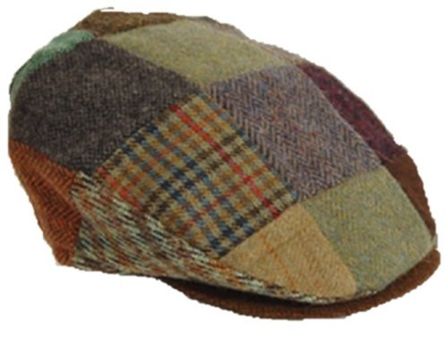 Vintage Cap (Patchwork) von 'Hanna Hats Donegal' (Large)