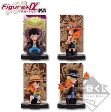 Most lottery Piece Heated ties ed E Award card stand figure all four Sabo Ace Luffy Low | à Bas Prix