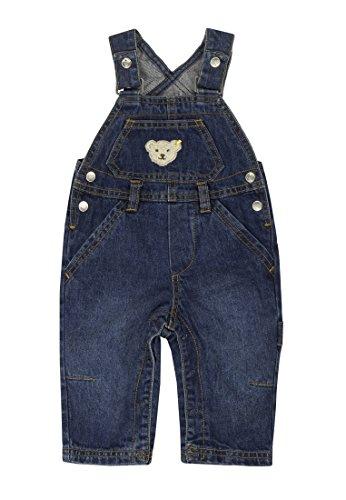 Steiff Unisex - Baby Latzhose 0006832 Blau (Blue Denim ) 92 (Herstellergröße: 92)