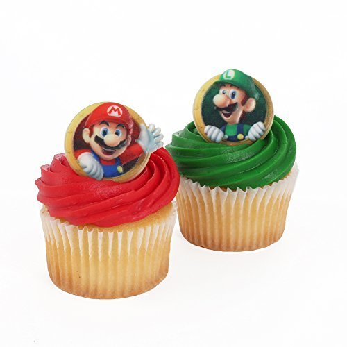 Super Mario 24 Cupcake Rings by Bakery Crafts