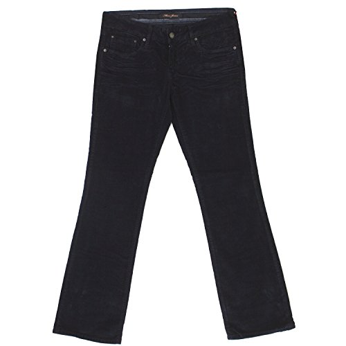 Mavi, Bella, Damen Jeans Hose, Nadelcordstretch, navyblue, W 28 L 30 [17454] (Rise Cord Low Stretch Hose)