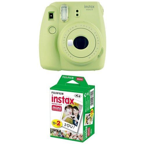 Fujifilm Instax Mini 9 Kamera lime grün mit Film