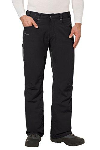VAUDE Herren Hose Craigel Padded Pants, black, 48, 04681 (Hosenträgern Skihose Mit Herren Für)