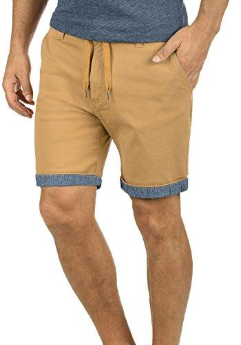 !Solid Lagoa Herren Chino Shorts Bermuda Kurze Hose Mit Kordel Aus Stretch-Material Regular Fit, Größe:XL, Farbe:Apple Cinnamon (6591)