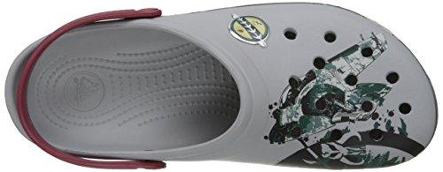Crocs CB Star Wars Boba Fett, Sabots - Mixte adulte Gris (Light Grey)