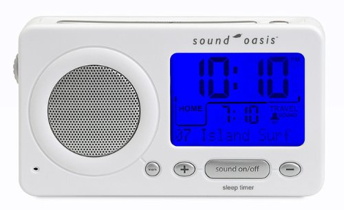 Sound Oasis S-850W Travel Sleep Sound Therapy System