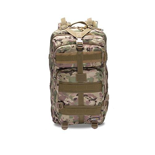 Imagen de eyourlife rfid  militar táctica molle para acampada camping senderismo deporte backpack de asalto patrulla para hombre mujer 40l camuflaje colorido alternativa