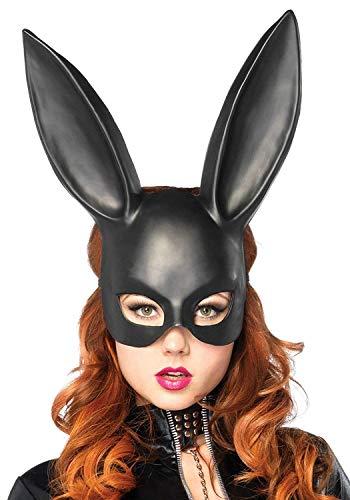 Lovelegis Rigid Kaninchen Mask - Long Stitches - Verkleidung Karneval Halloween Cosplay Zubehör - Erwachsene - Unisex - Sexy - Kaninchen - ()