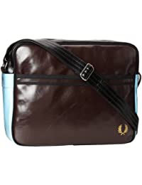 Fred Perry Classic Shoulder Bag Uomo Borse Marrone