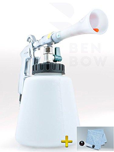 Preisvergleich Produktbild BENBOW Druckluft Reinigungspistole+ Mikrofasertücher Set