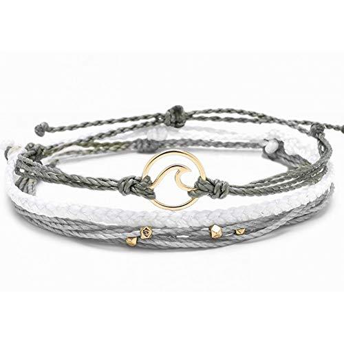 DMUEZW Seed Bead Coral original freundschaftsarmband Tortoise Charms armbänder für Frauen pulseras -
