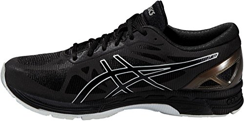 Asics Gel-DS Trainer 20 NC Lite-Show - Scarpe da Running Uomo - Black/Black/White (9090) Nero