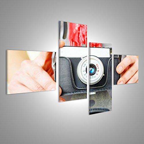 Quadro moderno vecchia macchina fotografica Stampa, usato usato  Spedito ovunque in Italia