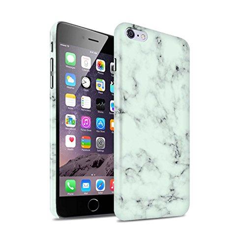 Clipser Brillant Coque de Stuff4 / Coque pour Apple iPhone 7 Plus / Blanc Design / Marbre Roche Granit Effet Collection Vert