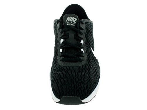 Nike - Wmns Zoom Fit, Sneaker Donna Black/White/Volt