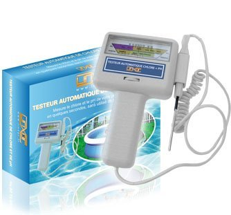 Preisvergleich Produktbild Linxor ® automatischer Tester für Chlorgehalt und pH Wert für Pool oder Whirlpool – EG-Norm