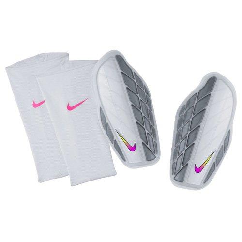 Nike Protegga Pro Attack Premium Fußball-schienbeinschoner Weiß/Grau/Multi-Color, XL