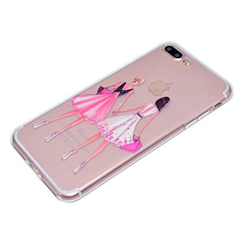 """Coque pour iPhone 6S / 6 , IJIA Ultra-mince Transparent Dream Girl été TPU Doux Silicone Bumper Case Cover Shell Housse Etui pour Apple iPhone 6S / 6 4.7"""" (TT18) TT19"""