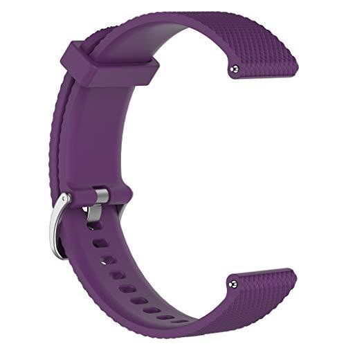 Prevently Silikon Sport Ersatz Uhrenarmband Frauen Männer Mädchen Jungen Handschlaufe für Weekender/Expedition (große Größe) (Uhrenarmbänder Weekender)