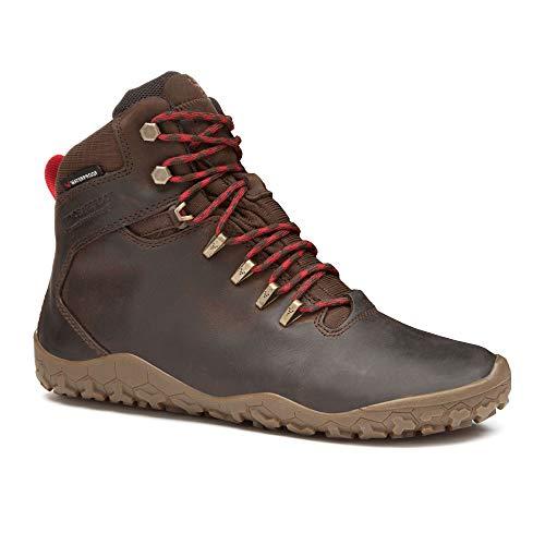 VivoBarefoot Tracker FG Women\'s Leather Wandern Stiefel - SS17, Braun, 38 EU