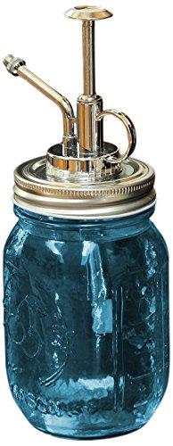 Toland Home Garden 340044Mason Jar Pflanze Mister Blau Deko, Pint