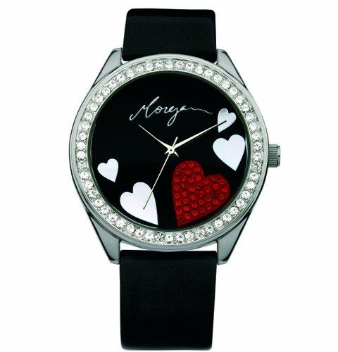 Morgan Damen-Armbanduhr Analog schwarz M1072B -