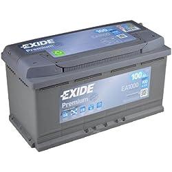 Exide Premium EA 100012V 100Ah Batterie de démarrage Nouveau Modèle 2014/15