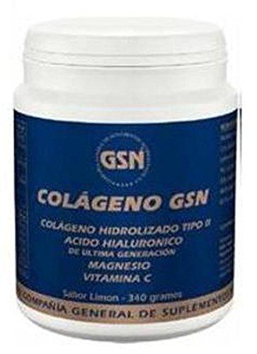 Colageno Gsn Con Ácido Hialurónico ( sabor naranja ) 340 gr de G.S.N.