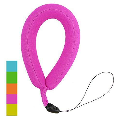 mitemix Gurt Wasserdichter Kamera-Float, schwimmende-Armband für unter Wasser Digital-Kamera, wasserdicht, Handy, mit Handgriff, für die GoPro Nikon mit Umhängeband mit Sonnenbrille