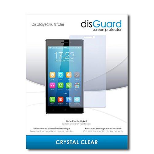 disGuard® Bildschirmschutzfolie [Crystal Clear] kompatibel mit Haier Voyage V3 [4 Stück] Kristallklar, Transparent, Unsichtbar, Extrem Kratzfest, Anti-Fingerabdruck - Panzerglas Folie, Schutzfolie