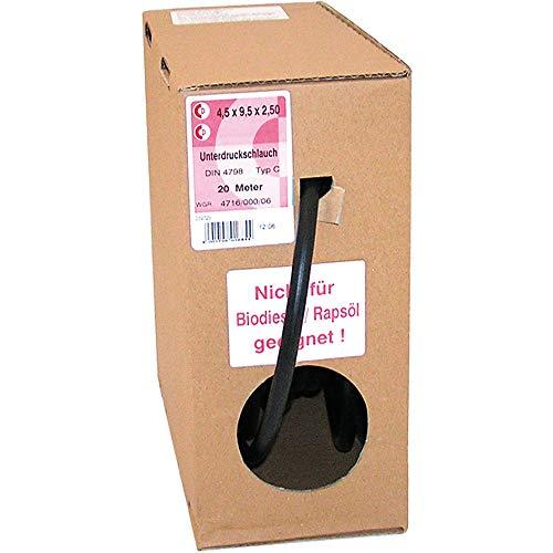 Dresselhaus Unterdruckschlauch f. Abgaskontrollgerät 5,0x10,0mm VE: 1m schwarz