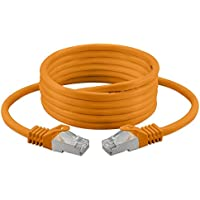 7.5m Cat 7 Ethernet-Kabel, halogenfrei 600 MHz / 100 Ω 4 Paare Stranded 10 Gbs Für Streaming / UHD Tv / IPTV / Media Player / Satelliten-Receiver / Netzwerk-Server / Desktops Pc / Super Fast-Ethernet-Kabel mit Gold-Pin-Steckverbinder …