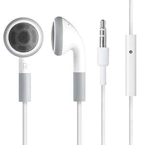 accessotech ohrh rer kopfh rer mit mikrofon freisprechanlage f r apple ipod iphone 3g 3gs 4 4g. Black Bedroom Furniture Sets. Home Design Ideas