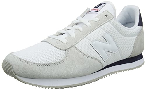 New Balance Unisex Adults' U220V1 Trainers, White (White), 3.5 UK 36 EU