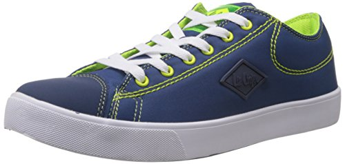 Lee Cooper Men's Blue Mesh Running Shoes - 10 UK  available at amazon for Rs.1250