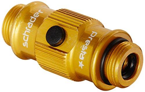 Koki Pumpe Lezyne ABS Thread Chuck für Swivel, Gold-Glänzend, 1-FLIP-STD-V312 (Thread-swivel)