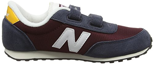 New Balance 410, Sneakers Hautes Mixte Enfant Multicolore (Burgundy 512)