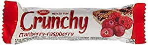Sante Crunchy Yoghurt Coated Muesli Bar with Cranberry and Raspberry, 35g