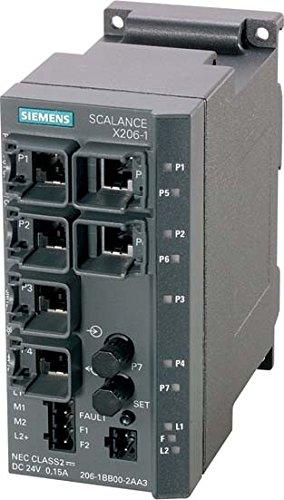 SIEMENS - EQUIPO SIMATIC NET SCALANCE X206-1LD 6XRJ-45