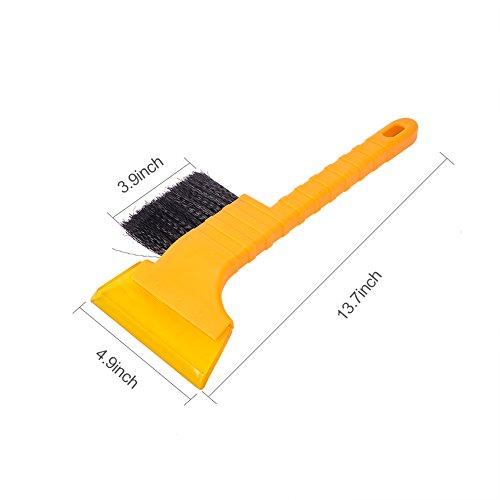 Jscarlife-2-in-1-Ice-Snow-Brushscraper-Car-Vehicle-raschietto-per-ghiaccio-neve-parabrezza-2-in-1-spazzolaraschietto-super-tergicristallo